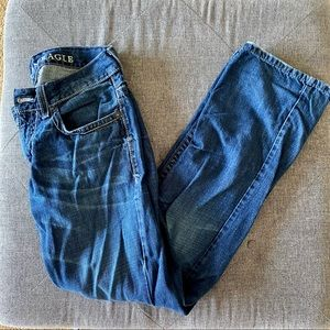 AE Low Rise Boot Cut Men's Jeans